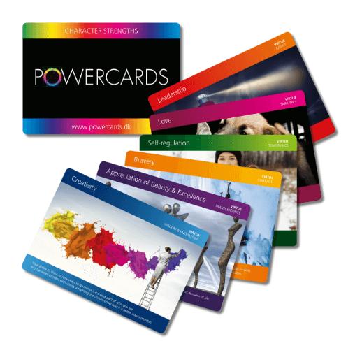 Powercards nu på tre sprog
