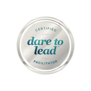 Vi nu begge certificerede Dare to Lead™  facilitatorer